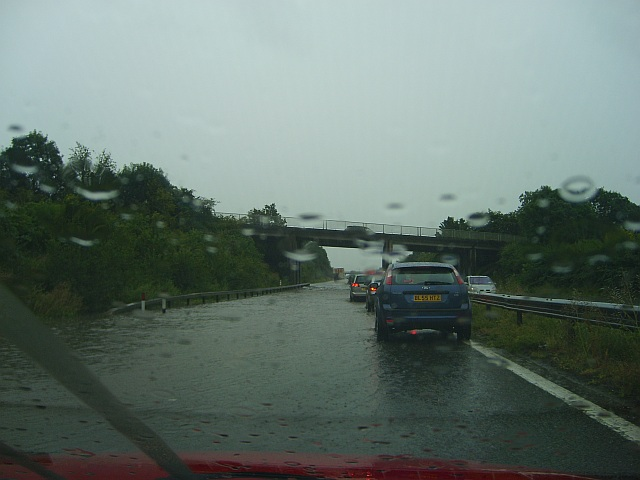 The M50 as a river